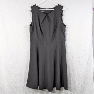 ALYX Fit & Flare Sleeveless Cocktail Dress